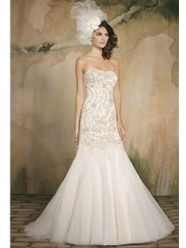 Trumpet Style Wedding Dresses| Trumpet Bridal Gowns | House of Brides
