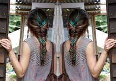 how to create a fishtail