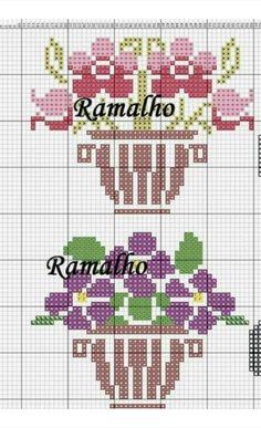 Cross Stitch Tree, Mini Cross Stitch, Cross Stitch Flowers, Cross Stitch Charts, Hardanger Embroidery, Cross Stitch Embroidery, Hand Embroidery, Filet Crochet Charts, Modern Cross Stitch Patterns
