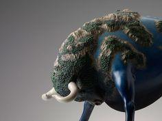 """La preciosa serie de esculturas """"Dreams"""" del artista chino Wang Ruilin. — WANG RUILIN"""