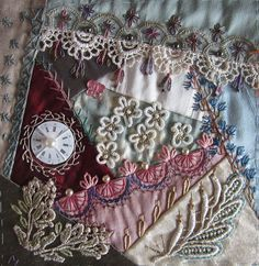 Crazy Quilting, Beading, Embroidery