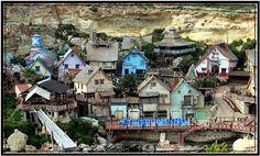 Popeye's Village in Sweetheaven - Malta
