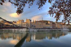 La-Passerelle-Saint-Vincent. Lyon.