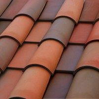 Clay - Roofing - Boral Romano Pans Clay Tile