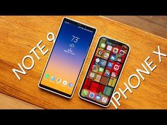 Samsung Galaxy Note 9 vs Apple iPhone X Galaxy Note 9, Apple Iphone, Smartphone, Samsung Galaxy, Notes, Youtube, Youtube Movies