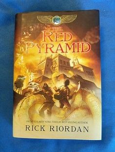 The Kane Chronicles #1 The Red Pyramid Rick Riordan 2010, HCDJ 1st Ed 1st Print