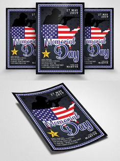 Club Flyers, Flyer Template, Memorial Day, Memories, Templates, Memoirs, Souvenirs, Stencils, Remember This