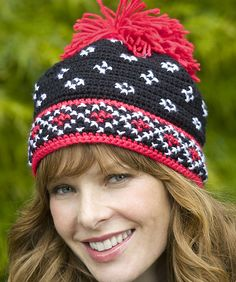 Scandinavian Hat by Michele Maks, free pattern  #crochet