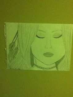 My drawing of a girl hehe