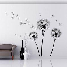 Dandelions : Wall tattoos by Crearreda Wallstickers