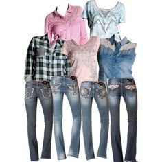 """""""New Miss Me Shirts and Jeans!"""" by bootbarn on Polyvore"""