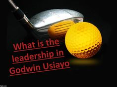 What is the leadership in godwin usiayo  A pioneer in its most straightforward definition is somebody who drives others. A man who ceases to be a pioneer, however, has nobody taking after is essentially going out for a stroll. Godwin Usiayo has taken individuals to places they don't know how to get to or that they have not been some time recently. Given that idea, let us take a gander at another word change. This word has been terribly distorted and characterized. When you hear the word…