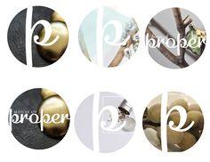 #logo #branding #graphics #houseofproper