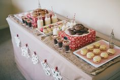 Christmas cookie table!