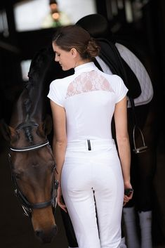 Horseware Competition collection Sara competition shirt/ Horseware Platinum collection Siena breeches