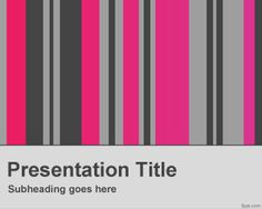 Vertical columns PowerPoint template is a free template background for PowerPoint presentations that you can use for any general purpose presentation