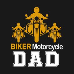 Check out this awesome 'Biker+Dad+Tshirt' design on @TeePublic!