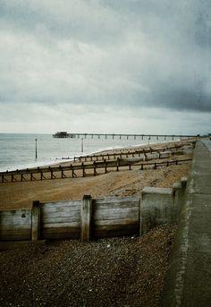 Vintage...pier & beach