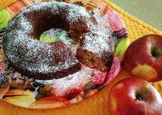 Κέικ με βρώμη, μήλο και ανάμεικτα αποξηραμένα φρούτα!!! Healthy Desserts, Doughnut, Vegan, Baby Zoo, Cake, Sweet, Crochet Baby, Muffins, Food