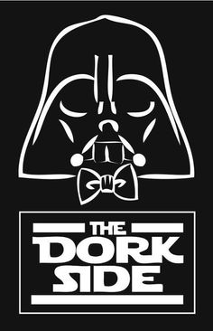 WHO CARES ABOUT DORKY? IT'S DARTH VADER IN A BOW TIE!!! BOW TIES ARE COOL!