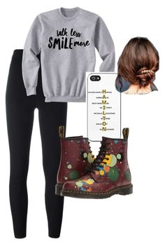 """Untitled #75"" by keekeemarie02 on Polyvore featuring adidas Originals, Dr. Martens and Urban Outfitters"