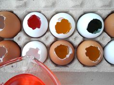 Easter fools!  Fill emptied and cleaned egg shells with jello and serve for breakfast!