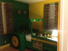 John Deere Bedroom for our little tractor lover!