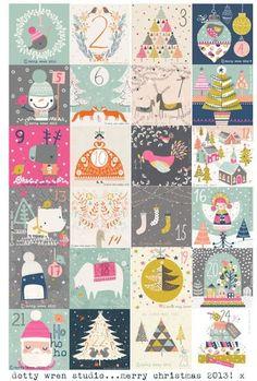 ideas for diy christmas cards printable advent calendar Printable Christmas Cards, Diy Christmas Cards, Christmas Deco, Printable Cards, Christmas Projects, Merry Christmas, Xmas, Christmas Countdown, Printable Planner