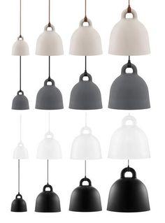 Bell Lamp Lund + Rudbeck for Normann Copenhagen. XS: 8.6 dia x 9 h S ...