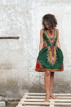 Dress from Gambia - Addis Abeba van KOKOworld op DaWanda.com