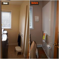 Renovated thew laundry-room.  Stripped down everything and installed new everything.