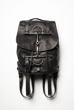 Horse & Nail Rider Backpack at Free People Clothing Boutique Equestrian Jewelry, Equestrian Style, Equestrian Fashion, Horse Nails, Bucket Backpack, Bucket Bags, Horse Gifts, Fringe Purse, Boho Bags