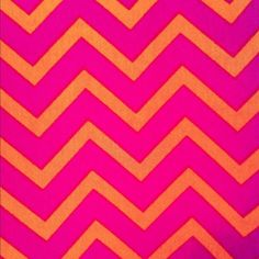 Pink + Orange Chevron