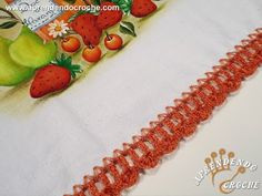 Bico de Crochê Laranjinha - Aprendendo Crochê - YouTube