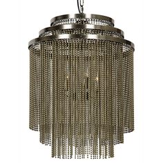 The Veil Chandelier by Noir emphasizes natural, simple and classic design. Noir has been designing, building and importing a very unique, but ever growing collection of home furnishings for more than 10 years.  <i>Noir products are hand finished and created with a concentrated effort toward environmental sustainability. Variations could occur and are not considered as product defects.</i>  Material: Metal  Finish: Antique Brass  Includes 6 feet of chain and cord. Includes large canopy...