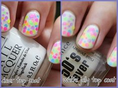 Confetti nails are always fun, am I right? A little confetti can spice up sweaty and boring summer days. Spring Nails, Summer Nails, Confetti Nails, Matte Top Coats, Jelly Nails, Opi Nails, Glitter Nail Art, Cool Nail Designs, China Glaze