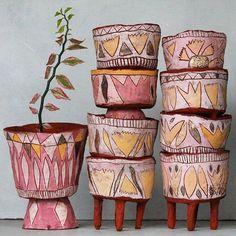 Ceramic pendant lights and pottery handmade by Madeline King on the Sunshine Coast Australia. Small batches of handmade ceramic lamp shades, ceramic lamps, pottery pendant lights, ceramic plant pots, ceramic bells and ceramic decor. Ceramic Decor, Ceramic Clay, Ceramic Painting, Ceramic Bowls, Ceramic Pottery, Pottery Art, Slab Pottery, Thrown Pottery, Mini Vasos