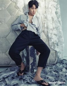 WINNER Mino - Marie Claire Magazine May Issue '16