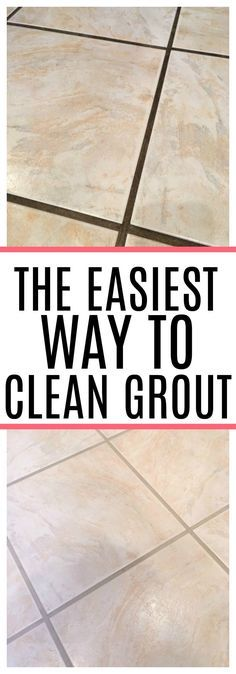 Dealing with dirty grout? Check out the easiest way to clean grout. See how to c… Dealing with dirty grout? Check out the easiest way to clean grout. See how to clean grout without a lot of scrubbing. Your grout will look like new again! Deep Cleaning Tips, House Cleaning Tips, Cleaning Solutions, Spring Cleaning, Cleaning Products, Cleaning Supplies, Cleaning Routines, Cleaning Lists, Cleaning Schedules