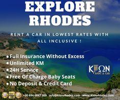 Explore Rhodes By Renting A Car In The Lowest Rates! 🚙🇬🇷  #rhodes #rhodesisland #carhirerhodes #rhodescarrentals #tsampikabeach #rhodesgreece #rentacarrhodes 🇬🇷 Low Cost Cars, Suzuki Alto, Fiat Panda, Nissan Qashqai, Best Rated, S Car, Renting, Car Brands, Car Rental
