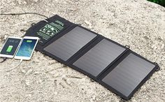 5V 21W Solar Charger Top Quality Folding Solar Phone Charger Dual USB Solar Charger.Solar power bank. Freeshipping #Affiliate