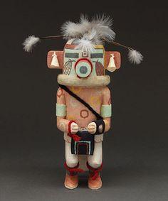 Spotted Corn Kachina Doll by Charles Chimerica (Hopi)