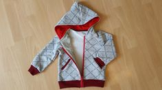 Jäckchen aus Papas Pullover / Jacket made from dad's sweater / Upcycling