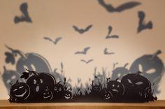 Halloween Decor Ideas: Silhouettes And Shadows >> http://www.hgtvgardens.com/halloween/make-frightening-garden-silhouettes-for-halloween?soc=pinterest&s=13