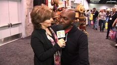 John Salley at Expo West ~NBA Star Chats with Marie about being vegan and his new vegan wine