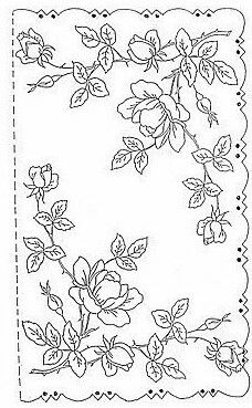 Cutwork Embroidery, Embroidery Flowers Pattern, Embroidery Transfers, Vintage Embroidery, Embroidery Stitches, Embroidery Designs, Parchment Design, Parchment Cards, Photo Pattern