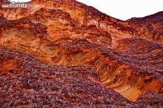 I colori delle rocce dei Bungle Bungle. Da vicino ...