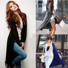 Casual Cotton V-Neck Long Sleeve Cardigan – Daisy Dress For Less