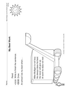 Mike Mulligan And His Steam Shovel Coloring Pages by