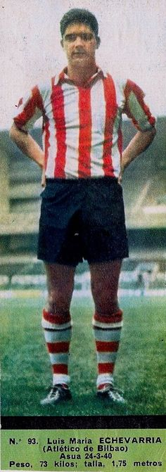 ECHEVARRIA (A. Bilbao -  1967-68) D. El Alcázar